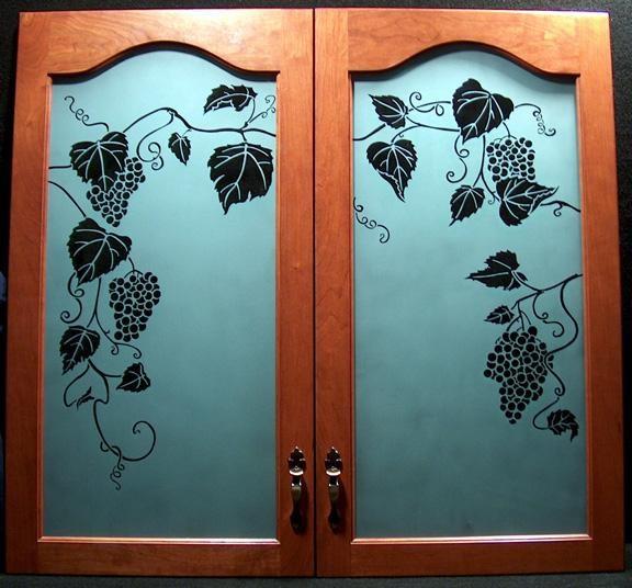 Grape Cabinet Doors Private Residence 576x536 Jpg