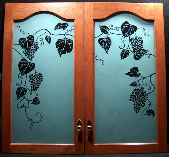 GRAPE CABINET DOORS-PRIVATE RESIDENCE